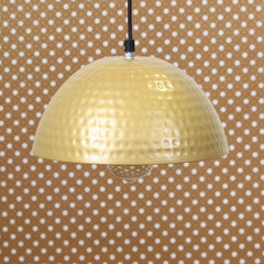 "ILAMP_CLS2-eCraftIndia-Antique-Golden-Hammered-Pendant-Light-10""-Diameter-Ceiling-Hanging-Lamp-for-Home/Living-Room/Offices/Restaurants_1"