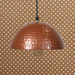 "ILAMP_CLS3-eCraftIndia-Antique-Copper-Hammered-Pendant-Light-10""-Diameter-Ceiling-Hanging-Lamp-for-Home/Living-Room/Offices/Restaurants_1"