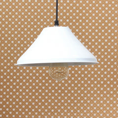 "ILAMP_CLS6-eCraftIndia-Shining-White,-Glossy-Finish-Pendant-Light,-10""-Diameter-Ceiling-Hanging-Lamp-for-Home/Living-Room/Offices/Restaurants_1"