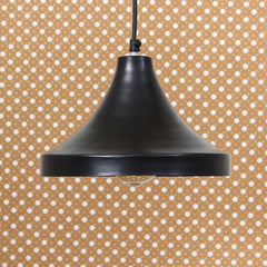 "ILAMP_CLS8-eCraftIndia-Shining-Black,-Glossy-Finish-Pendant-Light,-10""-Diameter-Ceiling-Hanging-Lamp-for-Home/Living-Room/Offices/Restaurants_1"