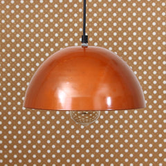 "ILAMP_CLS9-eCraftIndia-Shining-Copper-Color-Glossy-Finish-Pendant-Light,-10""-Diameter-Ceiling-Hanging-Lamp-for-Home/Living-Room/Offices/Restaurants_1"