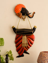 ILGWH500_A-eCraftIndia-Lord-Ganesha-playing-Dholak-Wall-Hanging_1