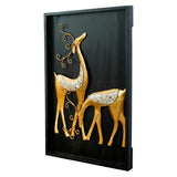 ecraftindia-golden-deer-with-wooden-frame-handcrafted-wall-hanging_6