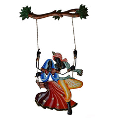 IRKWH501-eCraftIndia-Radha-Krishna-on-Swing-Wall-Hanging_1