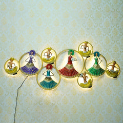 IRLADY501-eCraftIndia-Group-of-Dancing-Tribal-Women-Handcrafted-Iron-Wall-Hanging-with-background-LED's_1