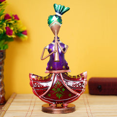 IRLADY504-eCraftIndia-Tribal-Lady-Playing-Musical-Instrument-Trumpet-Decorative-Showpiece_1