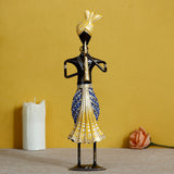 ecraftindia-tribal-man-playing-musical-instrument-trumpet-decorative-showpiece_2