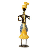 ecraftindia-tribal-man-playing-musical-instrument-trumpet-decorative-showpiece_3
