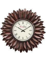 IWCACF_2401_R-eCraftIndia-Brown-Decorative-Iron-Handcarved-Premium-Wall-Clock_1
