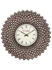 IWCACF_2406_R-eCraftIndia-Golden-and-Brown-Decorative-Iron-Handcarved-Premium-Wall-Clock_1