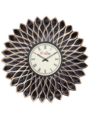 IWCACF_2408_R-eCraftIndia-Brown-and-Black-Decorative-Iron-Handcarved-Premium-Wall-Clock_1