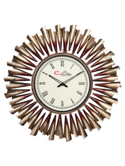 IWCACF_2413_R-eCraftIndia-Golden-and-Brown-Decorative-Iron-Handcarved-Premium-Wall-Clock_1