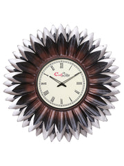 IWCACF_2419_R-eCraftIndia-Brown,-Black-and-Grey-Decorative-Iron-Handcarved-Premium-Wall-Clock_1