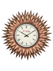 IWCACF_2422_R-eCraftIndia-Copper-Decorative-Iron-Handcarved-Premium-Wall-Clock_1