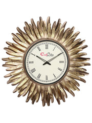 IWCACF_2424_R-eCraftIndia-Golden-and-Brown-Decorative-Iron-Handcarved-Premium-Wall-Clock_1