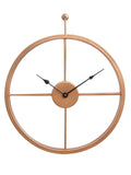 ecraftindia-copper-color-iron-round-hand-crafted-analog-wall-clock-without-glass-(-46cm-x-53cm-)_3