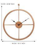 ecraftindia-copper-color-iron-round-hand-crafted-analog-wall-clock-without-glass-(-46cm-x-53cm-)_4