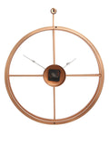 ecraftindia-copper-color-iron-round-hand-crafted-analog-wall-clock-without-glass-(-46cm-x-53cm-)_7