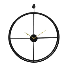 IWCHB_1245-eCraftIndia-Black-Round-Ring-Iron-Wall-Clock-(24-x-24-Inch)_1