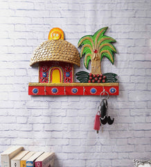 eCraftIndia Cottage Key Holder