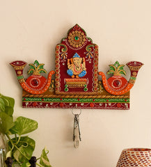 eCraftIndia Lord Ganesha with Shehnai Key Holder