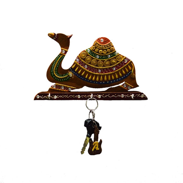 ecraftindia-papier-mache-camel-key-holder_1