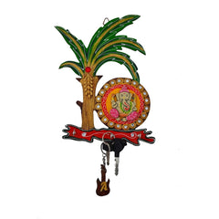 ecraftindia-papier-mache-lord-ganesha-under-tree-key-holder_1