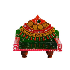 eCraftIndia Royal Throne for Mandir(Temple)
