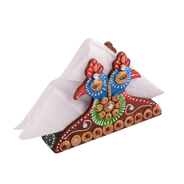 ecraftindia-wooden-papier-mache-decorative-tissue-paper-holder_1