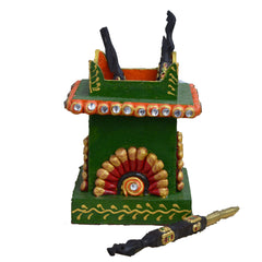 ecraftindia-papier-mache-embossed-pen-stand_1