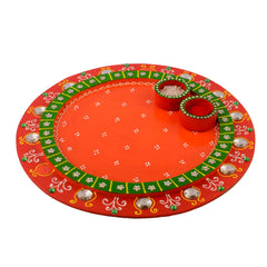 ecraftindia-wooden-papier-mache-crystal-studded-round-shape-pooja-thali_1