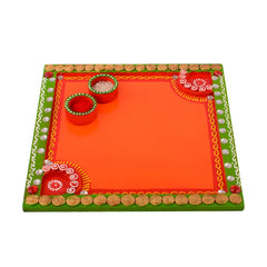 ecraftindia-wooden-papier-mache-embossed-square-shape-pooja-thali_1