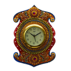 ecraftindia-kundan-studded-wall-clock_1