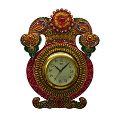 ecraftindia-kundan-studded-wall-clock-with-kalash-design_1