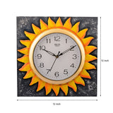 ecraftindia-wooden-glorious-sun-design-artistic-handcrafted-wall-clock_3