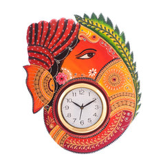kwc621-ecraftindia-turban-lord-ganesha-coloful-wooden-handcrafted-wooden-wall-clock-h-18inch_1