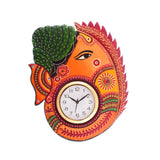 kwc622-ecraftindia-turban-lord-ganesha-coloful-wooden-handcrafted-wooden-wall-clock-h-18inch_1