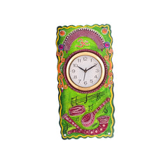 ecraftindia-musical-instruments-embossed-coloful-wooden-handcrafted-wooden-wall-clock-h-19inch_1