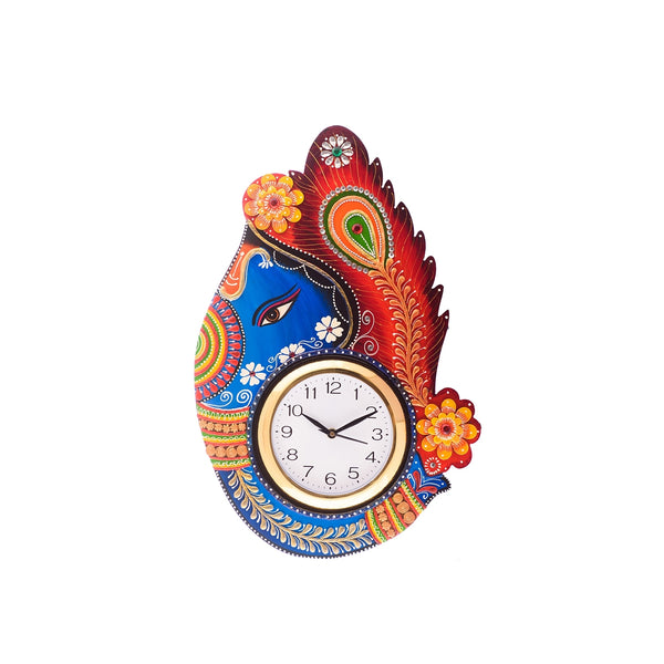 kwc639-ecraftindia-turban-lord-ganesha-coloful-wooden-handcrafted-wooden-wall-clock-h-18inch_1