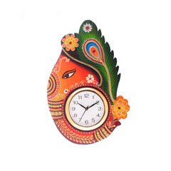 kwc640-ecraftindia-turban-lord-ganesha-coloful-wooden-handcrafted-wooden-wall-clock-h-18inch_1