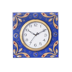 ecraftindia-wooden-papier-mache-splendid-artistic-handcrafted-wall-clock_1