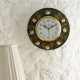 kwc692-ecraftindia-analog-wall-clock-red-green-with-glass_2