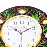 kwc692-ecraftindia-analog-wall-clock-red-green-with-glass_5