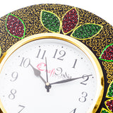 kwc697-ecraftindia-analog-wall-clock-red-green-with-glass_5