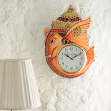 kwc708-ecraftindia-analog-wall-clock-orange-with-glass_2
