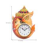 kwc708-ecraftindia-analog-wall-clock-orange-with-glass_3