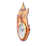 kwc708-ecraftindia-analog-wall-clock-orange-with-glass_4