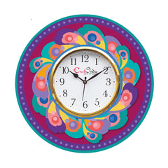 kwc901-ecraftindia-ethnic-design-wooden-colorful-round-wall-clock_1