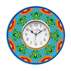 kwc902-ecraftindia-ethnic-design-wooden-colorful-round-wall-clock_1