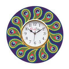 kwc904-ecraftindia-ethnic-design-wooden-colorful-round-wall-clock_1